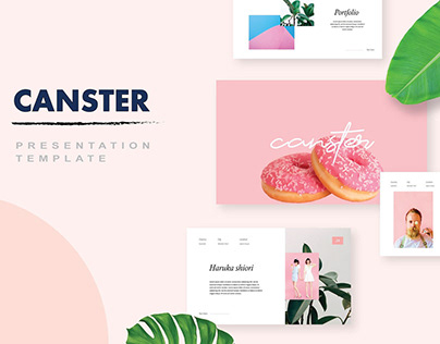 Canster PowerPoint Template