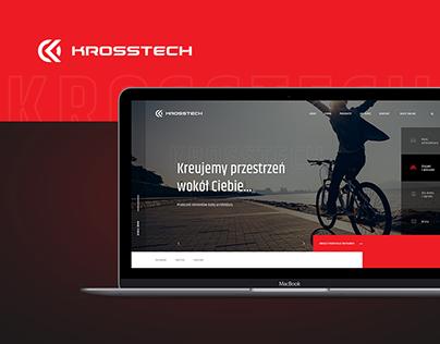 Krosstech - Street furniture & bicycle racks - Logo&Web