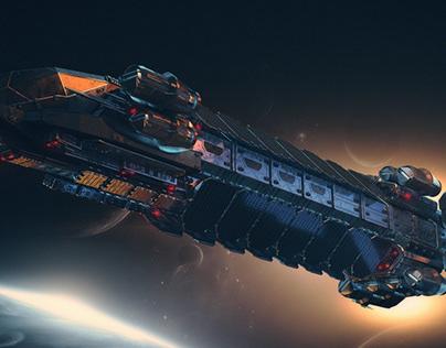 TAU station ships