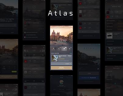 Atlas - UI/UX Mobile App