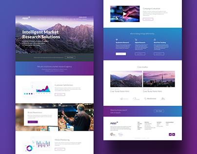 MMRI Research | Website Design 2017
