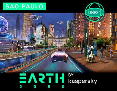 Sao_Paulo_VR_360° Concept art panorama
