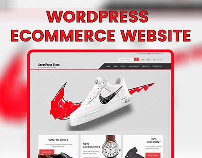 WordPress Online Store eCommerce Website Design