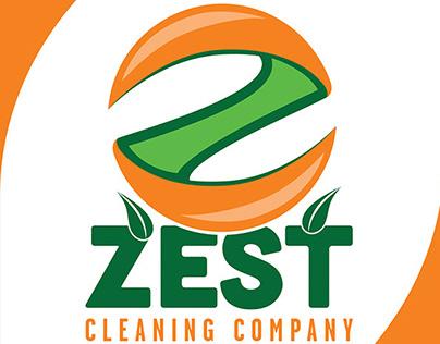 Zest Cleaning Company: Pocket Folder Stationary Package