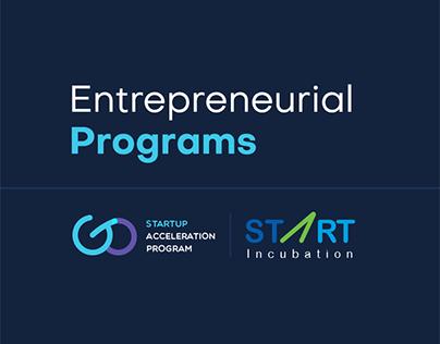 Entrepreneurial programs