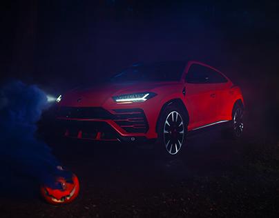 Lamborghini - The Halloween Nightmare