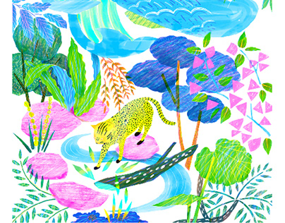 endangered animals fashion project