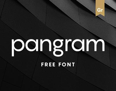 Pangram Sans - Free Font