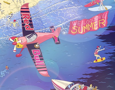 Red Bull - We love summer