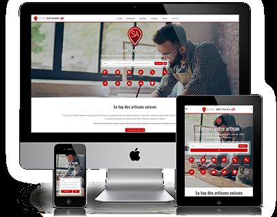 Site Web - Suisse Artisans