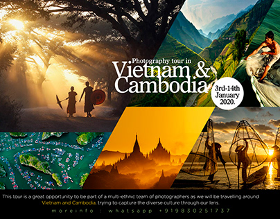 Photography tour in Vietnam & Cambodia