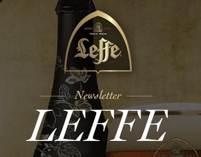 Leffe official newsletter