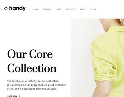 Handy eCommerce Website