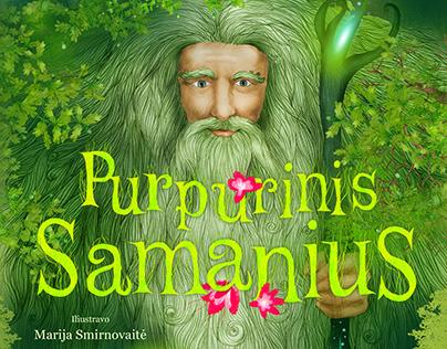 Purpurinis Samanius