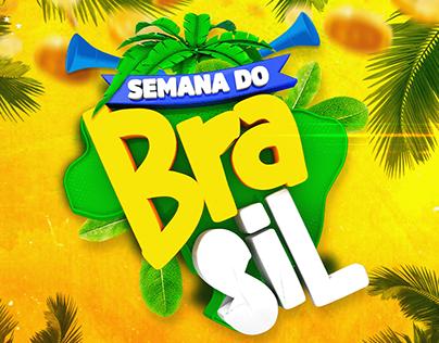 SELO 3D + PSD GRÁTIS SEMANA DO BRASIL