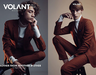 """""""Brother from..."""" online editorial for VOLANT magazine"""