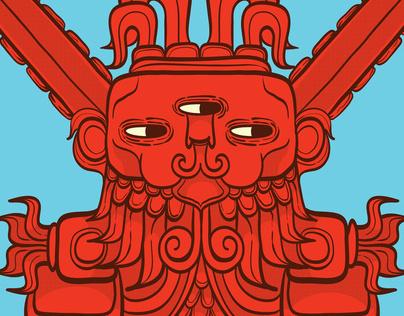 Ah Puch   Mayan God of War