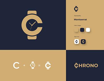 Watch Logo - C letter Logo