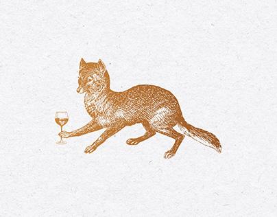 The Noble Fox | Restaurant & Bar branding