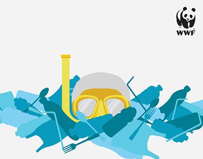 WWF Refuse Single Use Plastics Poster