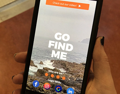 Hostelworld Digital Campaign - 'Go Find Me' App
