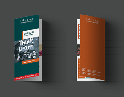 Idioma brochure & branding