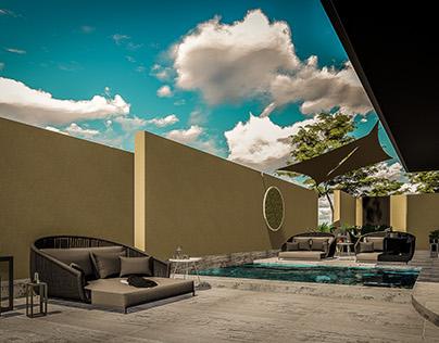 Hotel Ritz-Carlton. Los Cabos, México.