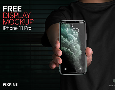 Free iPhone 11 Pro Display Mockup