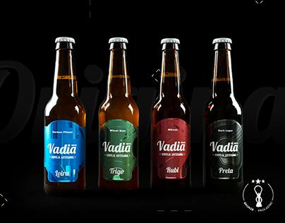 Cerveja Vadia . Rótulos Gama Original