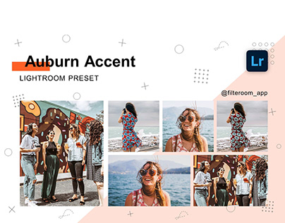 Lightroom Presets - Auburn Accent - Filteroom app