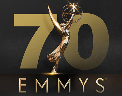 Emmys 70 telecast graphics package.