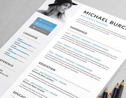 Creative Resume Free Presentation