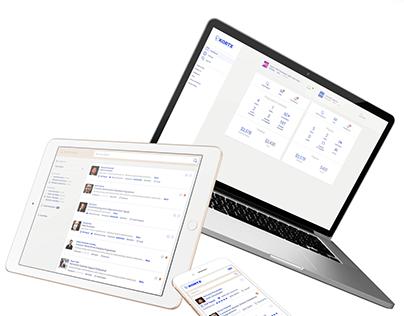 Web Design UX/UI | Kortx - The Big Data Marketplace