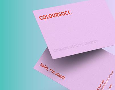 Coloursock – Branding, Print, Digital