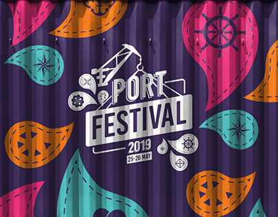 Port Festival 2019   Event Branding