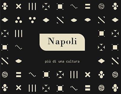 Napoli, più di una cultura - Visual identity