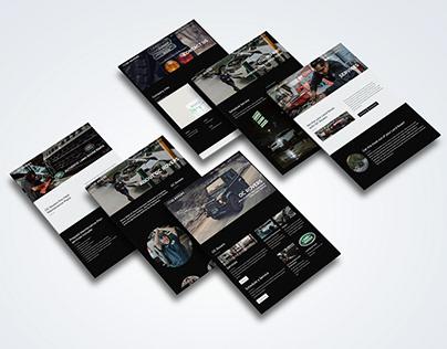 Automotive Shop Website