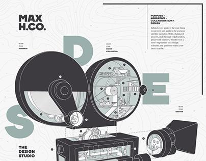 Max Hancock & Co. Poster
