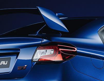 Subaru Impreza STI | CGI