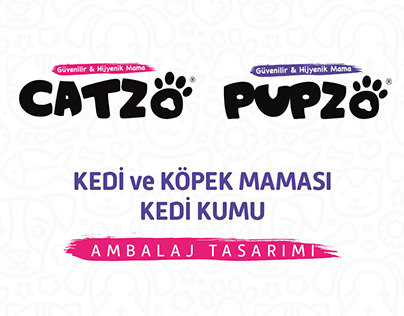 CATZO - PUPZO Ambalaj Tasarımı