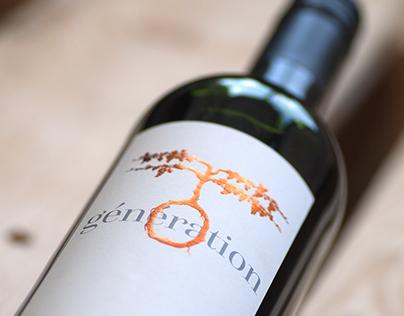 Illustration & Design wine label