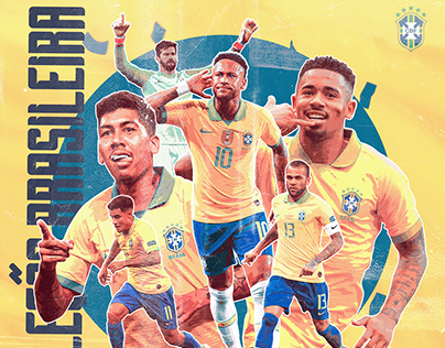 Brazil Match Day Poster