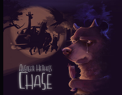 Avenger Herhel's chase board game project