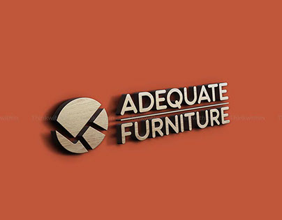 Adequate Furniture Branding Design by Thinkwithin