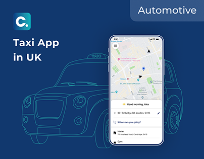Mobile App for Taxi Fleets in the UK | UX, UI, Ionic