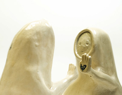 Ceramic version: Imaginary monsters and other spirits
