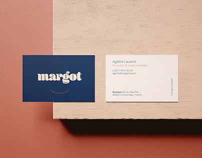 Margot branding - Personal project