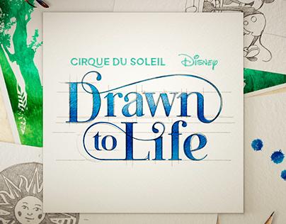 Drawn to Life - Cirque du Soleil Logo Teaser