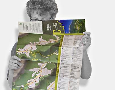 Plan du plateau des Petites Roches