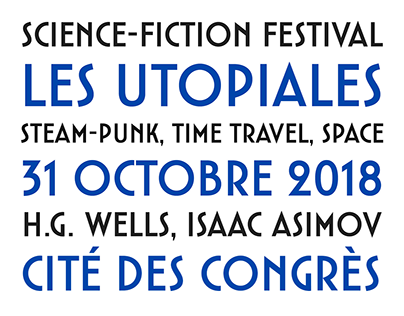 Utopiales custom typeface